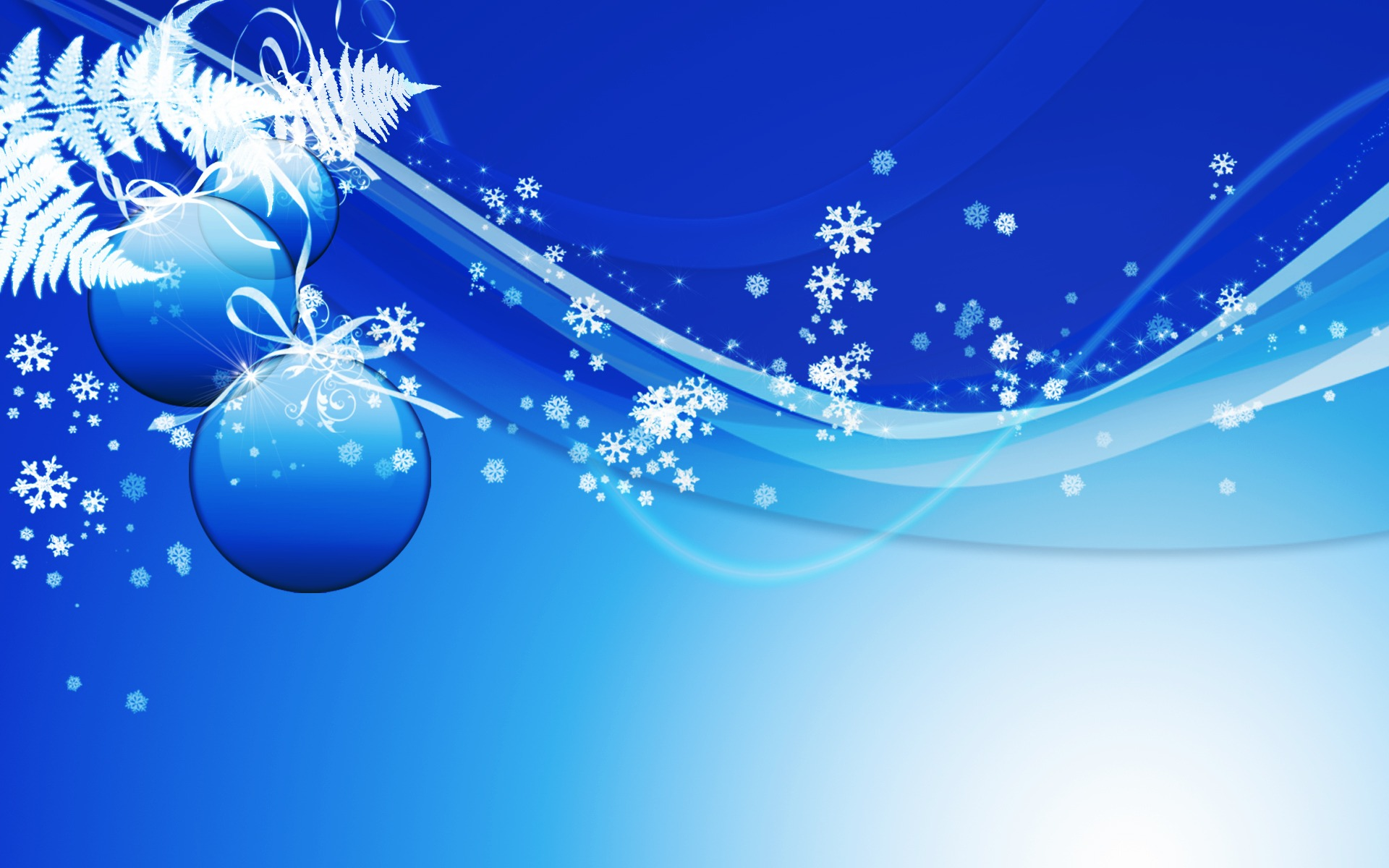 Blue Christmas Wallpaper 4385