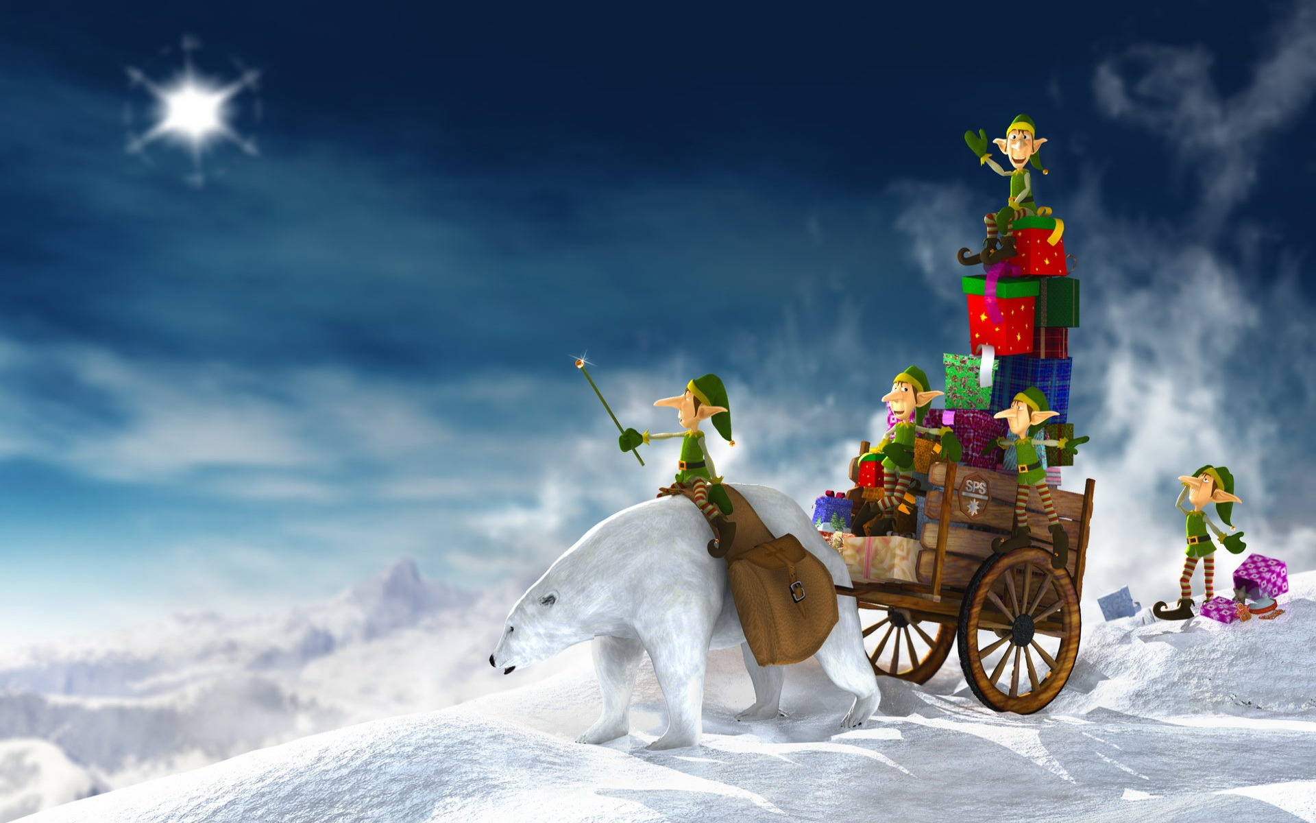 Gifts_for_Christmas in 3d