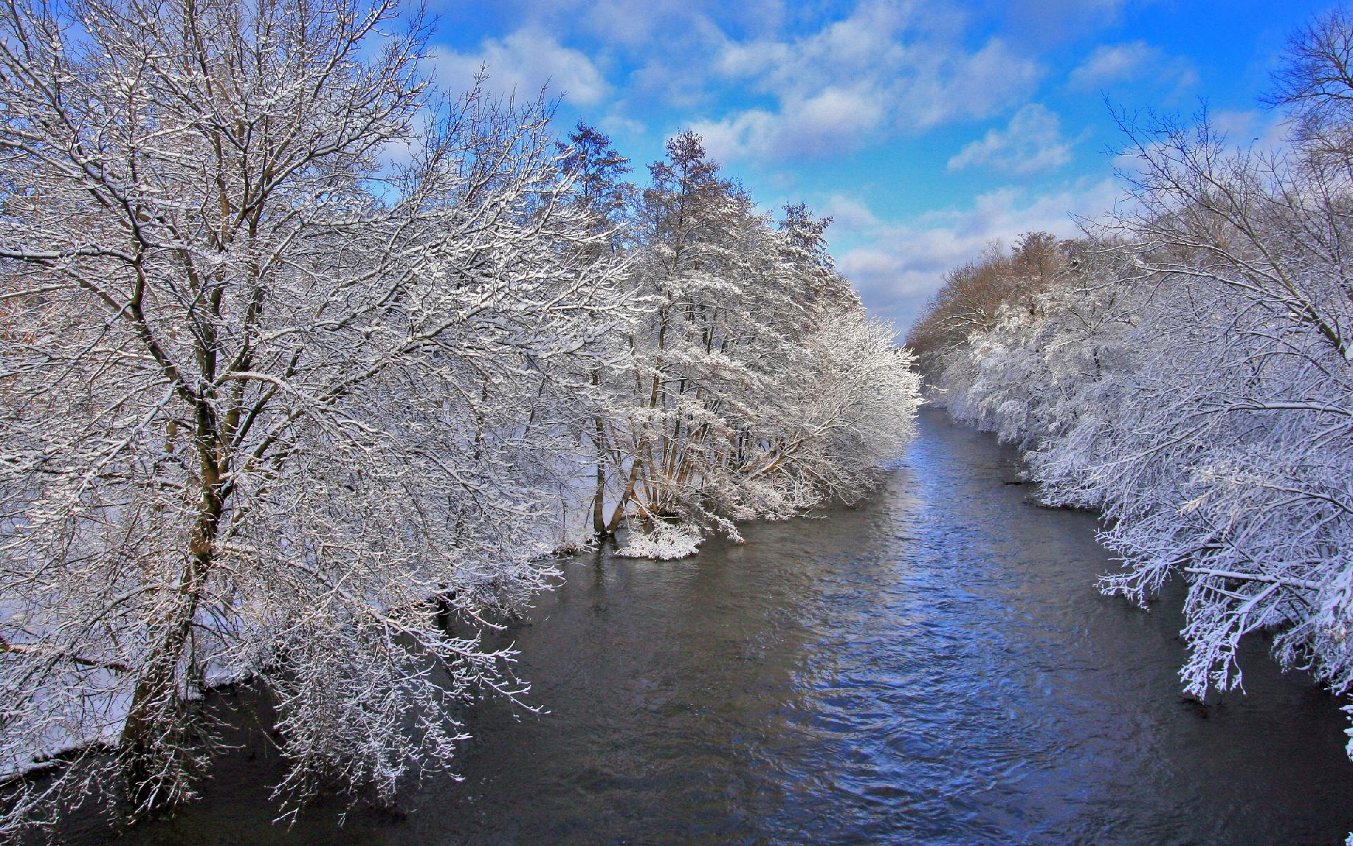 Winter Landscape Wallpaper 435697
